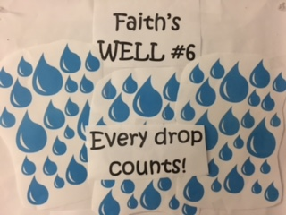 Faith's Well #6 – Every Drop Counts