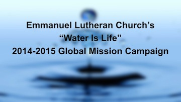 Emmanuel Lutheran North Hollywood – Water Is Life!