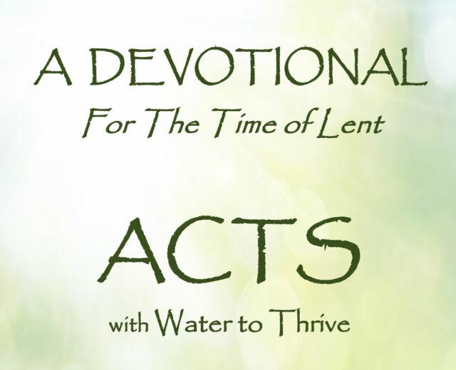 ACTS Lent 2019 Devotional-1